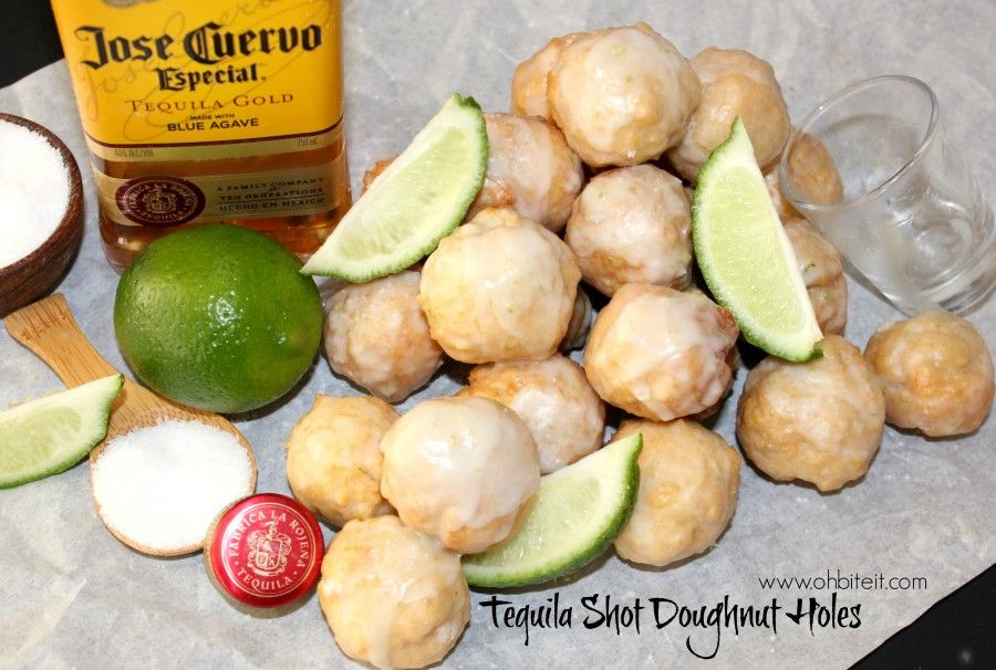 How to make glazed tequila shot donut holes in 2020