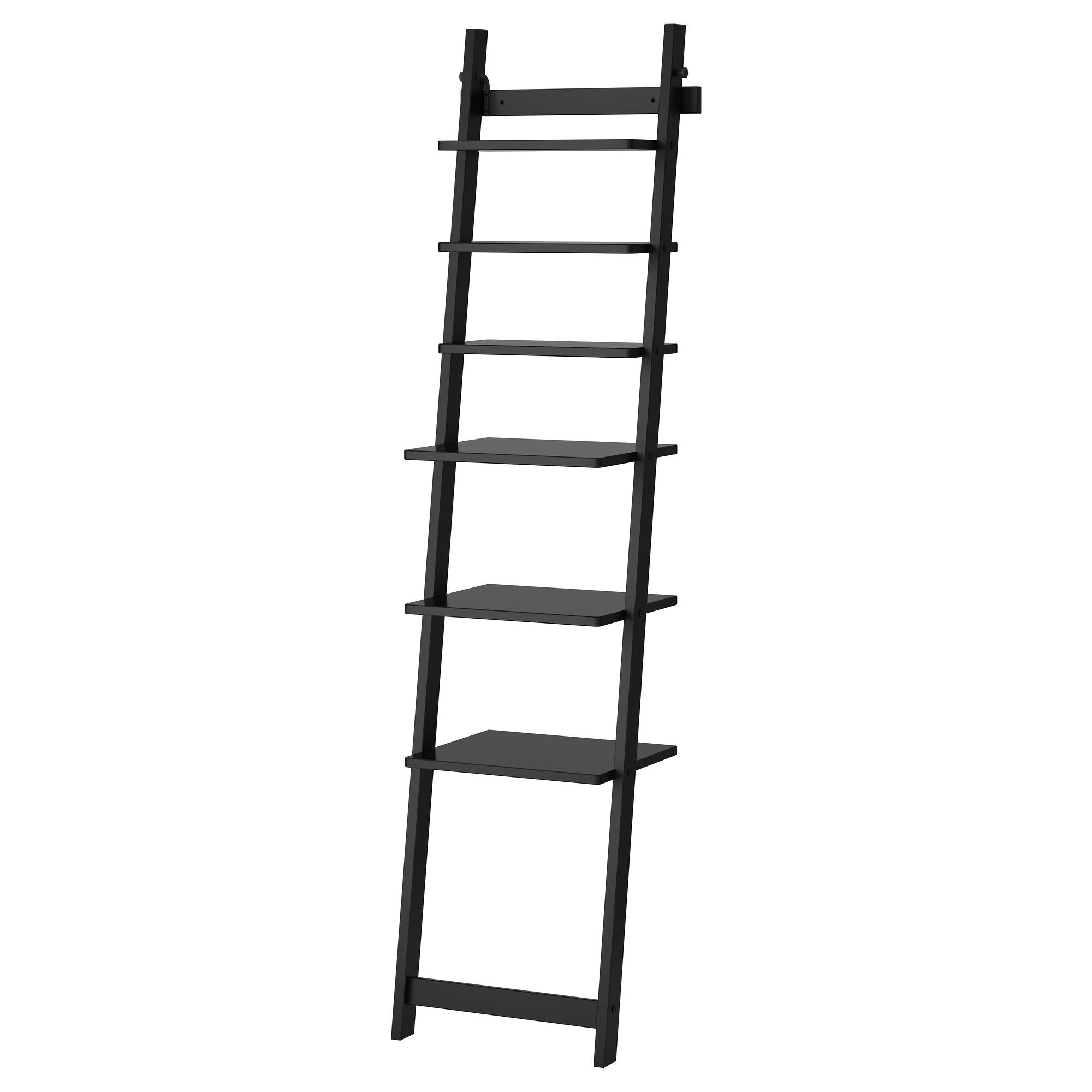 HJLMAREN Estante de pared - negro-marrn - IKEA