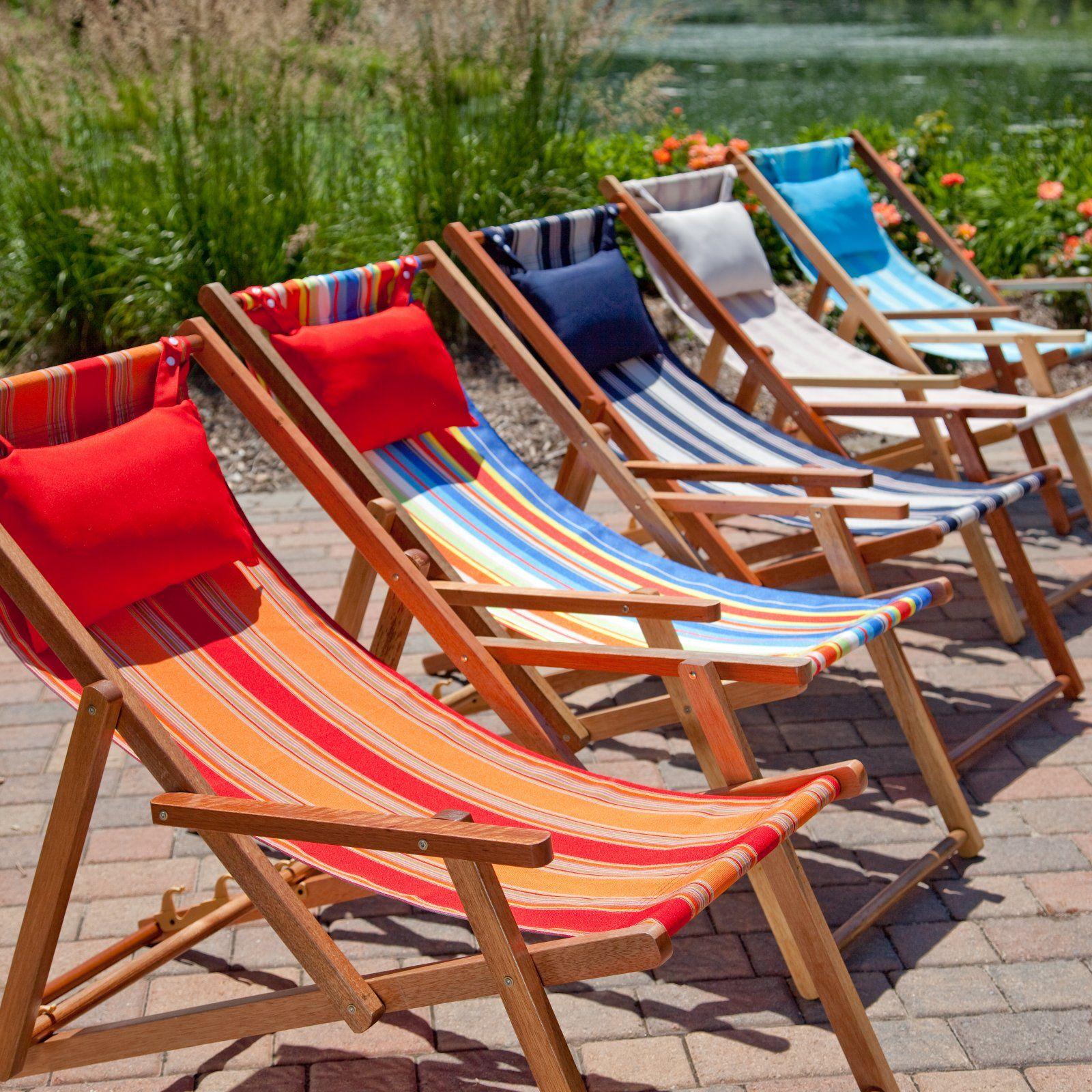 Deck and Beach Chair Lounger Beach Chairs at Hayneedle