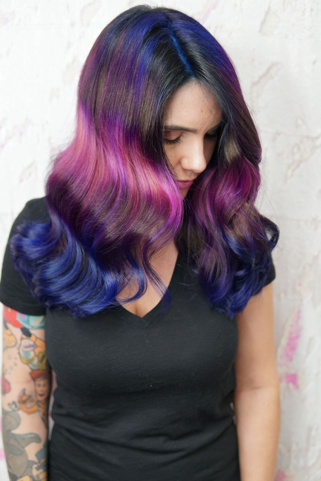 Shine Line Hair Virginiabeach Neonhair Rainbowhair Colormelt Vividhaircolor Matrix Socolorcult Vivid Hair Color Neon Hair Mermaid Hair