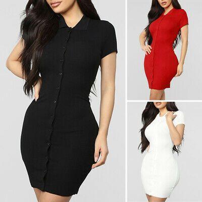 (Ad)eBay - Women's Sundress Ladies Dress Holiday Sundress Dress Party Short Sleeve Cocktail #shortsundress