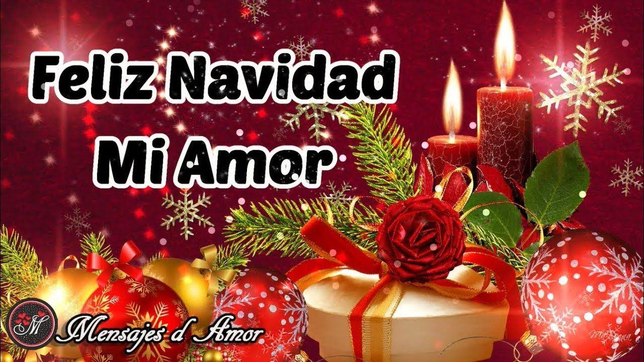 FELIZ NAVIDAD AMOR TE AMO MERRY CHRISTMAS
