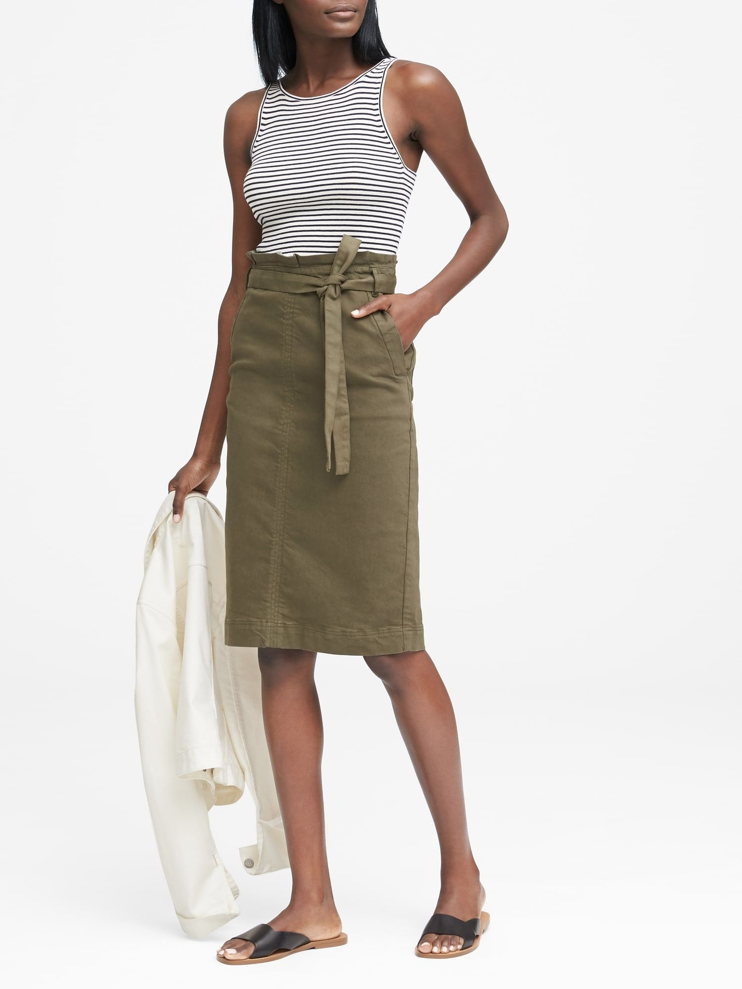 77d3336de Paper bag skirt | Notes from my travels- the shopping edition ...