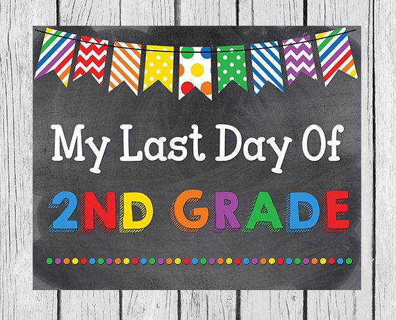 photograph about Last Day of 2nd Grade Printable identified as My Very last Working day Of 2nd Quality Printable Very last Working day via