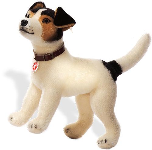 Steiff Hexie Jack Russell Plus Dog 12 Inch Steiff Teddy Bear