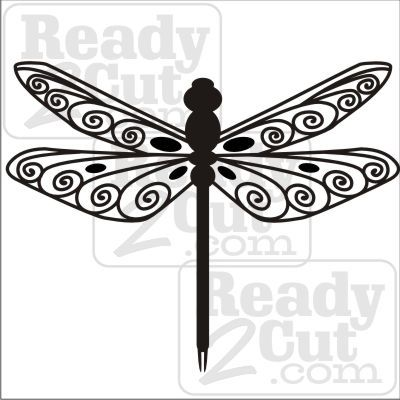 Dragonfly Fancy Things To Draw Dragonfly Silhouette