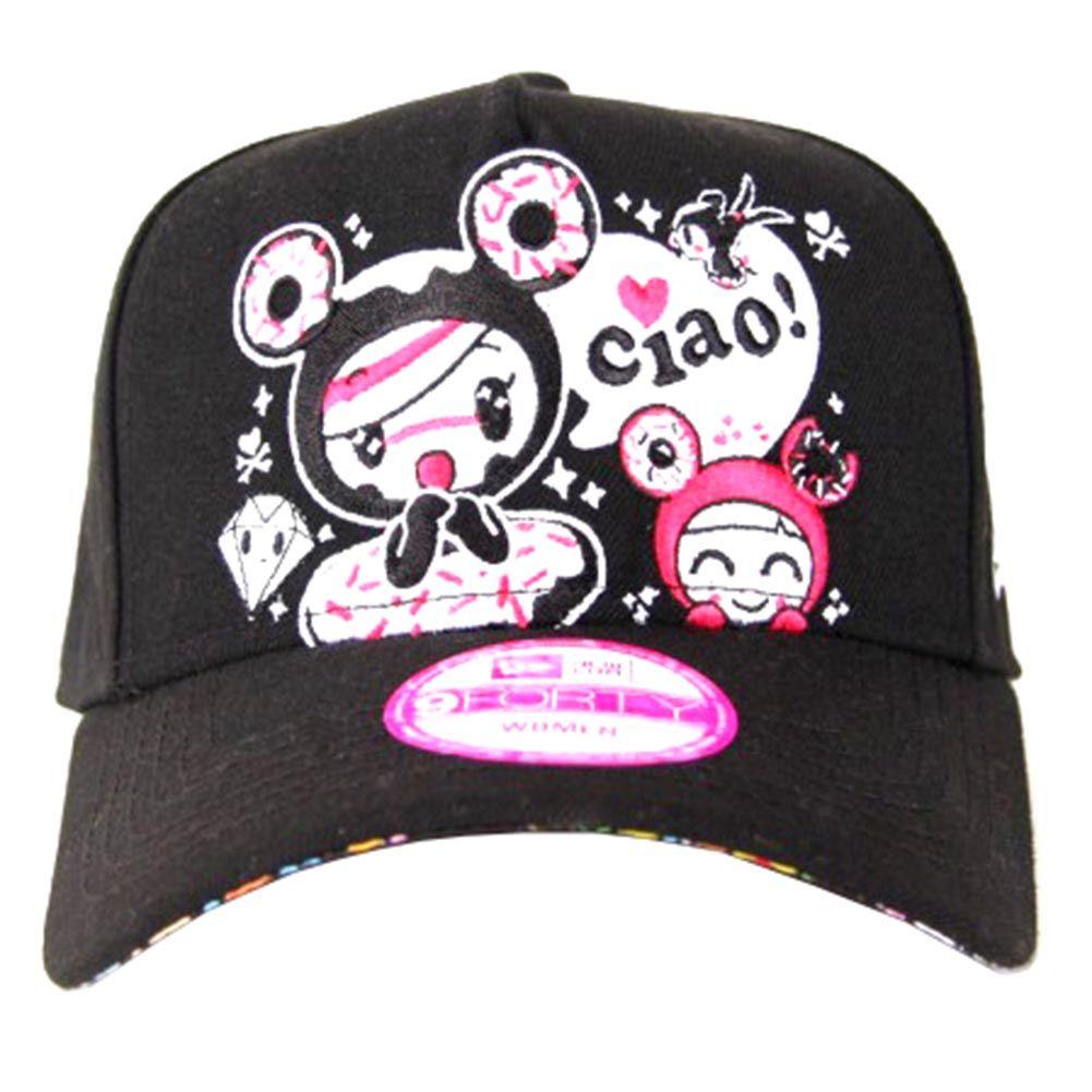 9876877eb4b Tokidoki So Kawaii Snapback Hat in Black