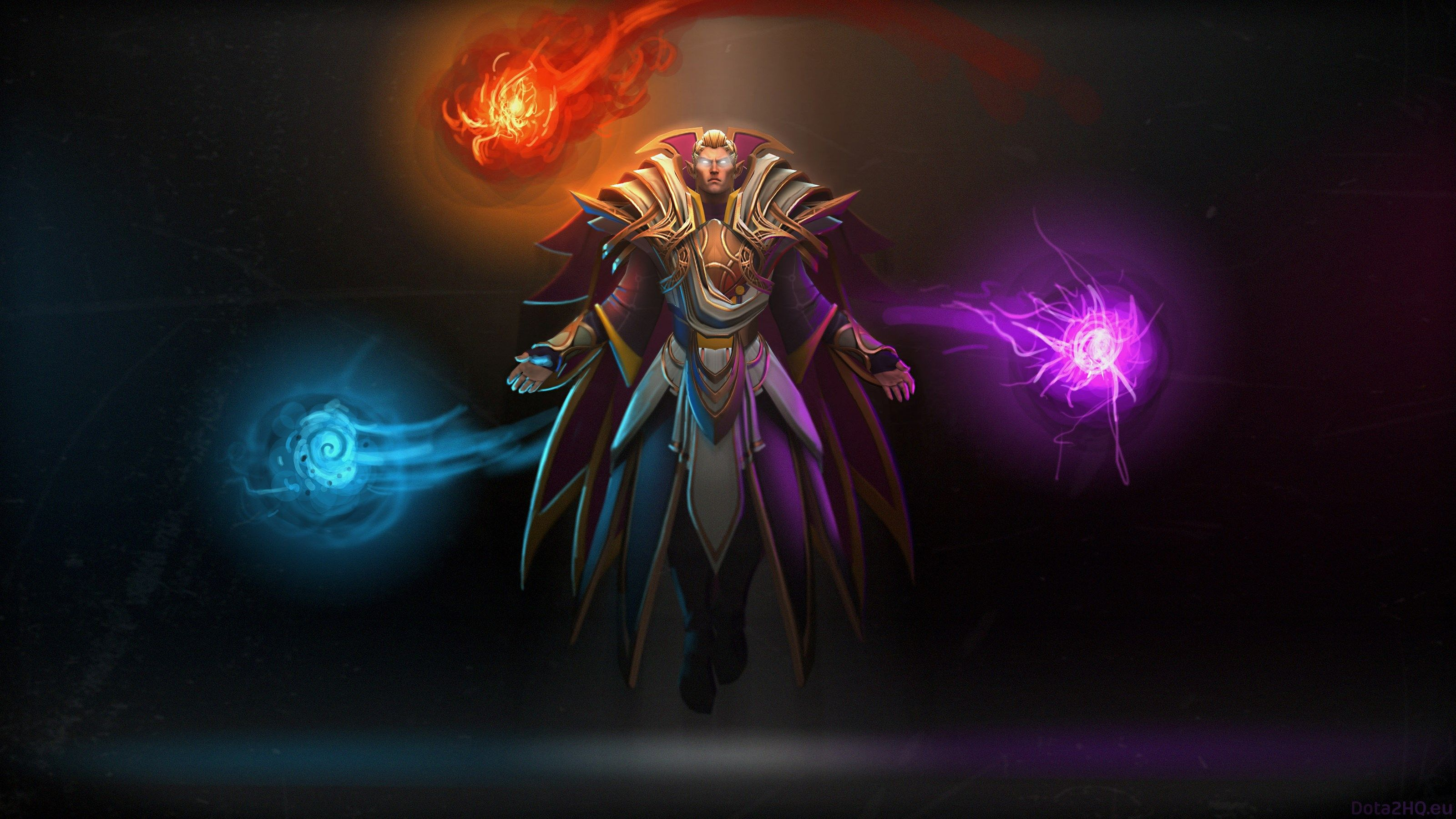 3200x1800 Invoker Dota 2 Wallpaper Hd