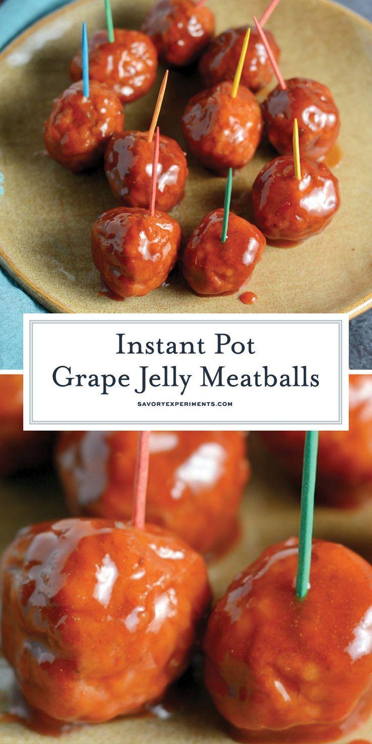 Grape Jelly Meatballs #meatballswithgrapejelly