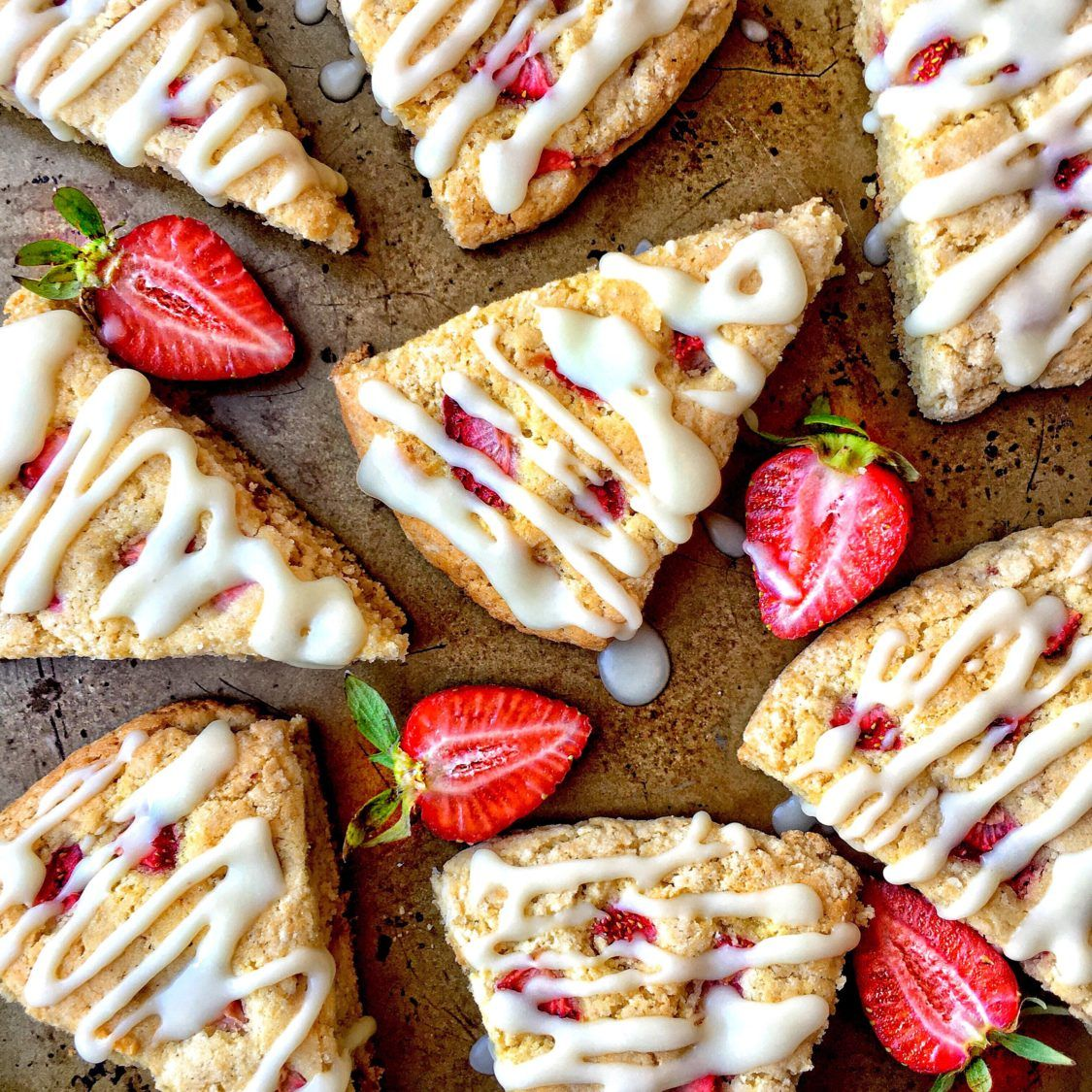 Strawberry Lemon Cream Scones Natalie Way Bakes Recipe Dairy Free Recipes Dairy Free Scones Cream Scones