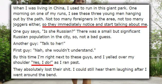 """15 People Share Their """"They Didn't Realize I Spoke Their Language"""" Story #collegehumor #lol"""