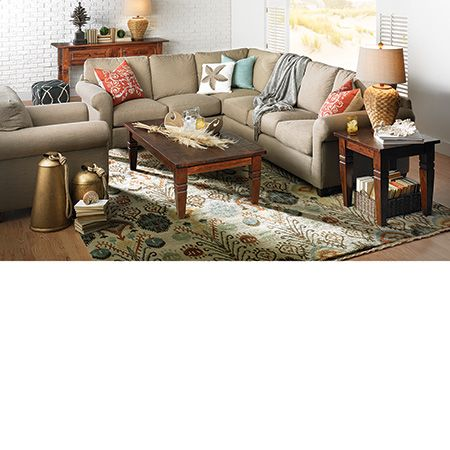 The Dump Furniture Outlet - BARRON SECTIONAL | new home sofas ...