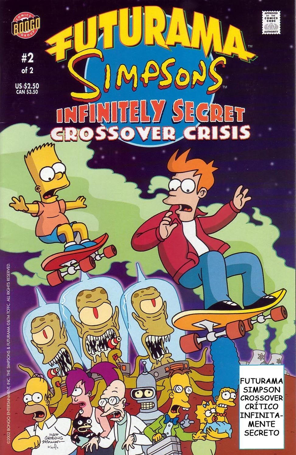 futurama comics | ... Simpsons – Futurama Cruzados [4/4] [Comics] [Español]  [MU] Gratis