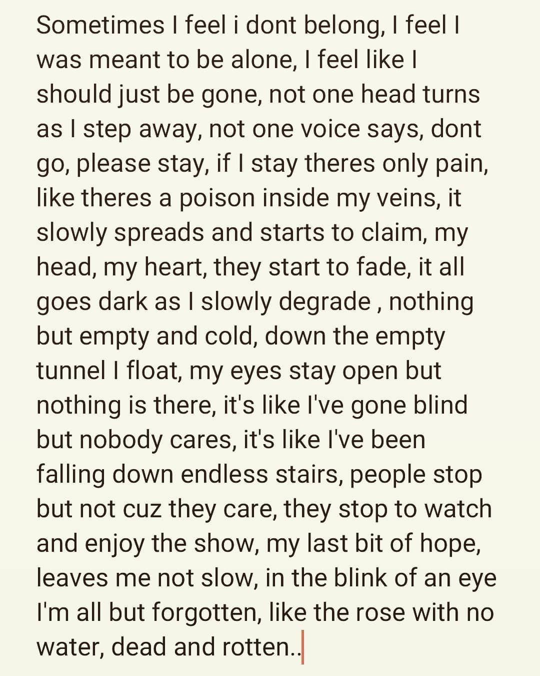 #randompoetry #poems #poem #feelings #feels #pain #randomthoughts #writing #poet #poetry #expression #expressing #nighttimevibes #vibes #author #amateur #arts #arte #poemas #dolor #amor #loved #alone #dark #darkestminds