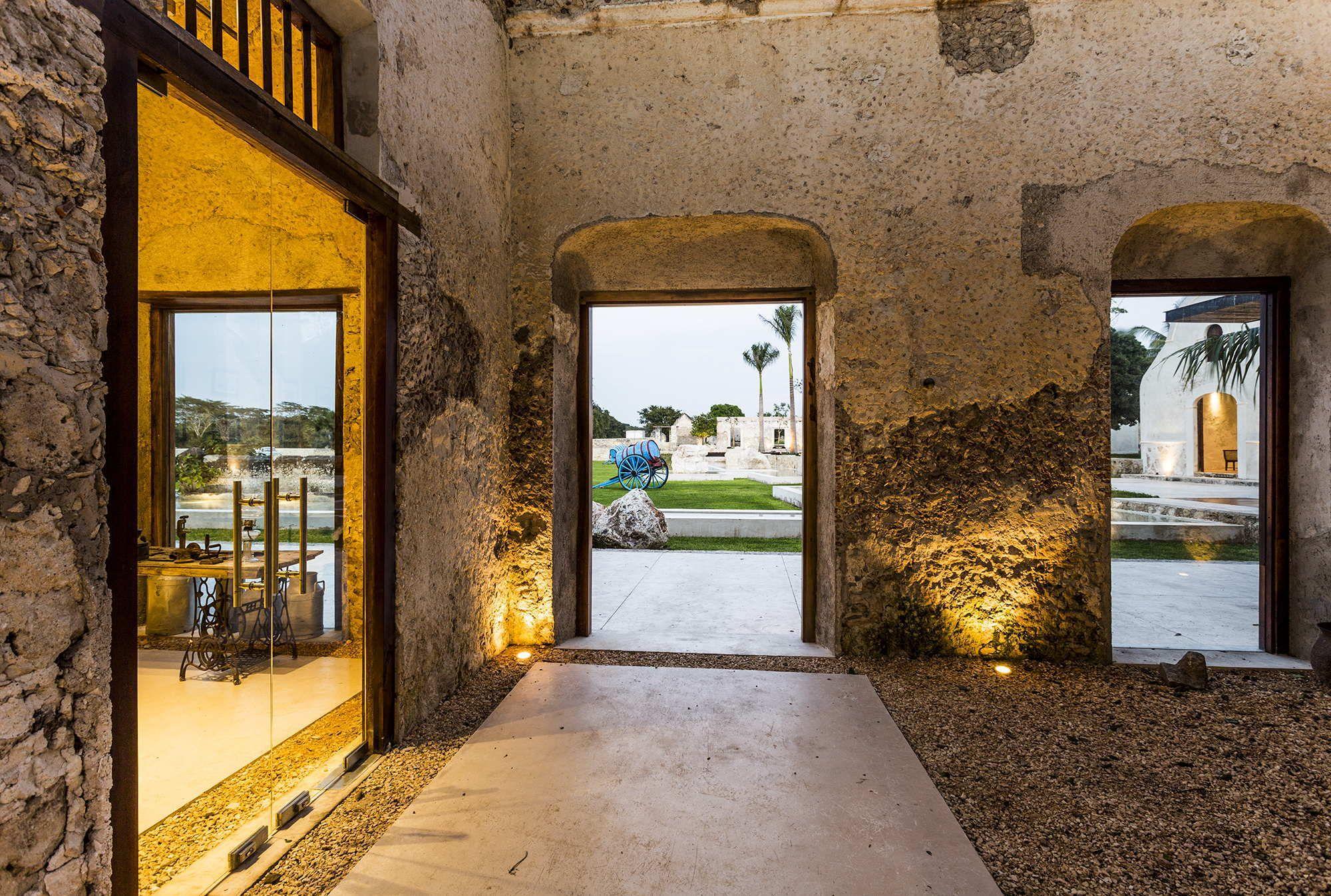 Vor dem Alter verneigen - Hacienda in Mexiko | Architektur