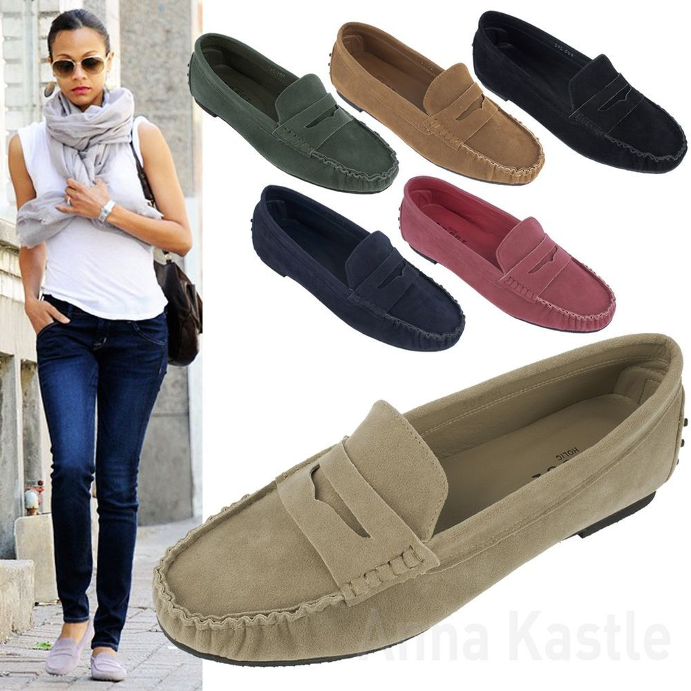 Penny Loafers Women Outfit Clothes Scarf Shoes | Les Vu00eatements | Pinterest | Penny Loafers ...
