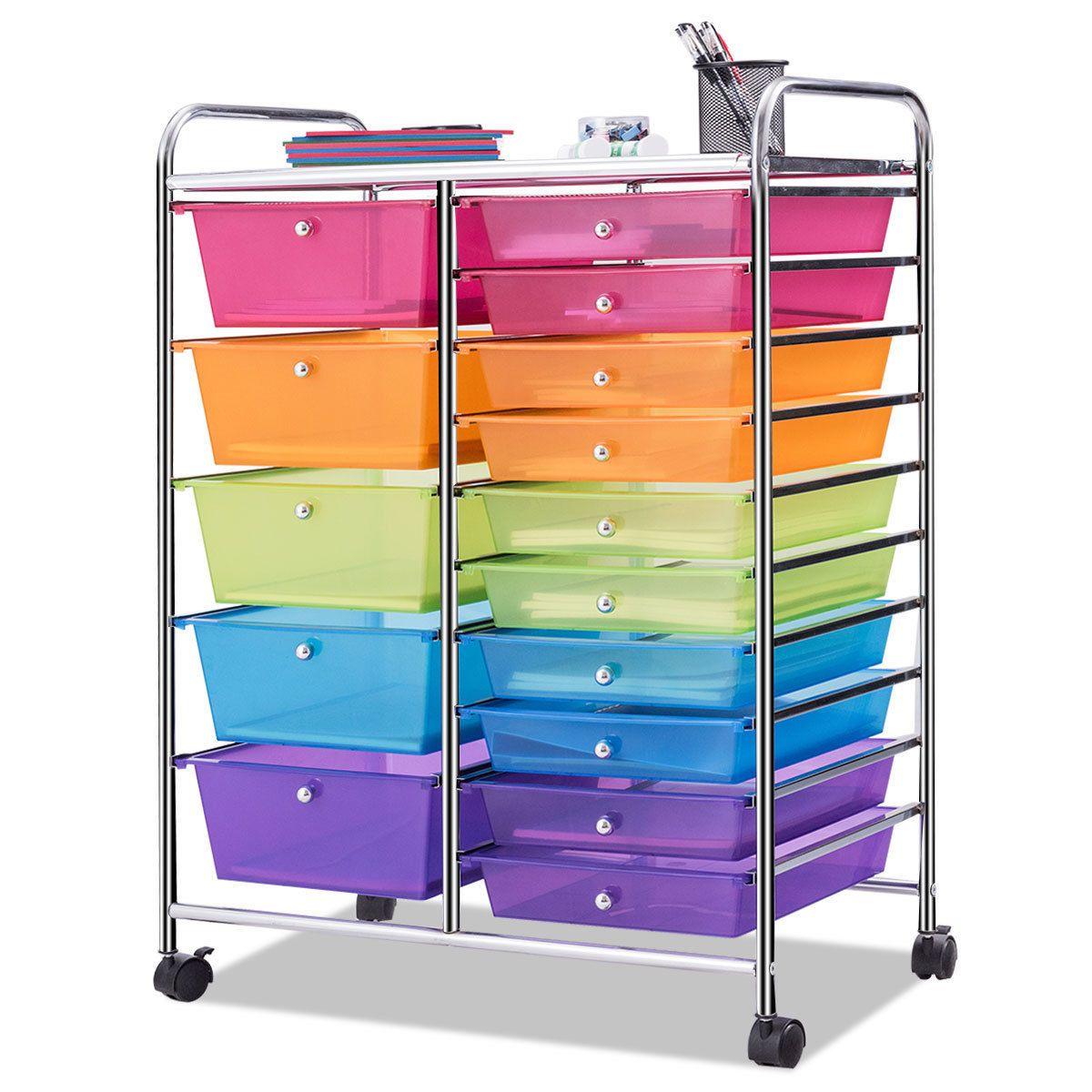 Home In 2020 Scrapbook Storage Storage Cart Rolling Storage