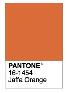 Jaffa Orange Design Color Orange Orange Paint Colors Pantone