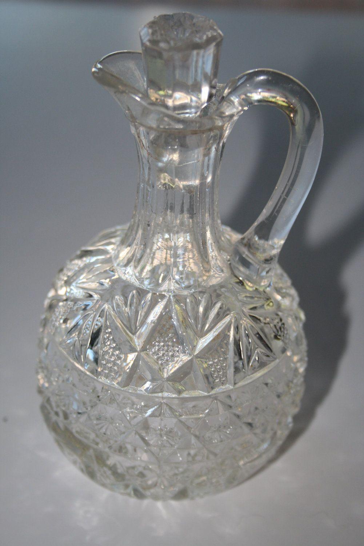 Vintage Vinegar Cruet Vintage Vinegar Oil Cruet By