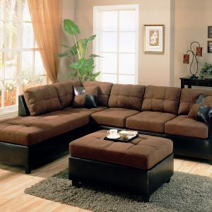 Living Room Decorating Ideas With Brown Sectional  Http Custom Brown Couch Living Room Ideas Design Inspiration
