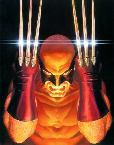 """Marvel Universe: """"Visions: Wolverine"""" - Limited Edition Giclée on Canvas by Alex Ross"""