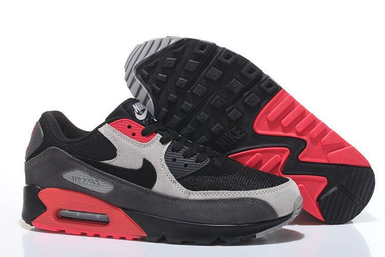 5f2a5bf2ee3 basket nike pas cher homme homme air max 90 noir et rouge