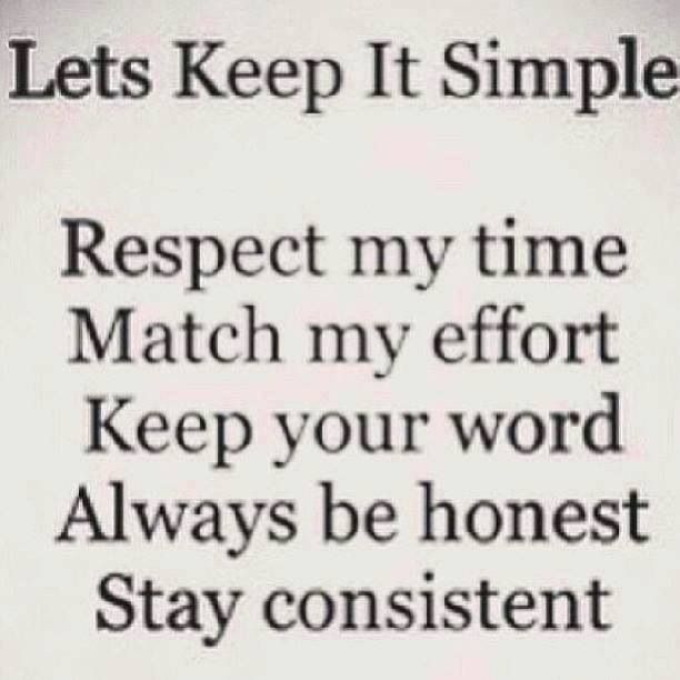 Let S Keep It Simple Life Quote Quotes Sayings Pinterest