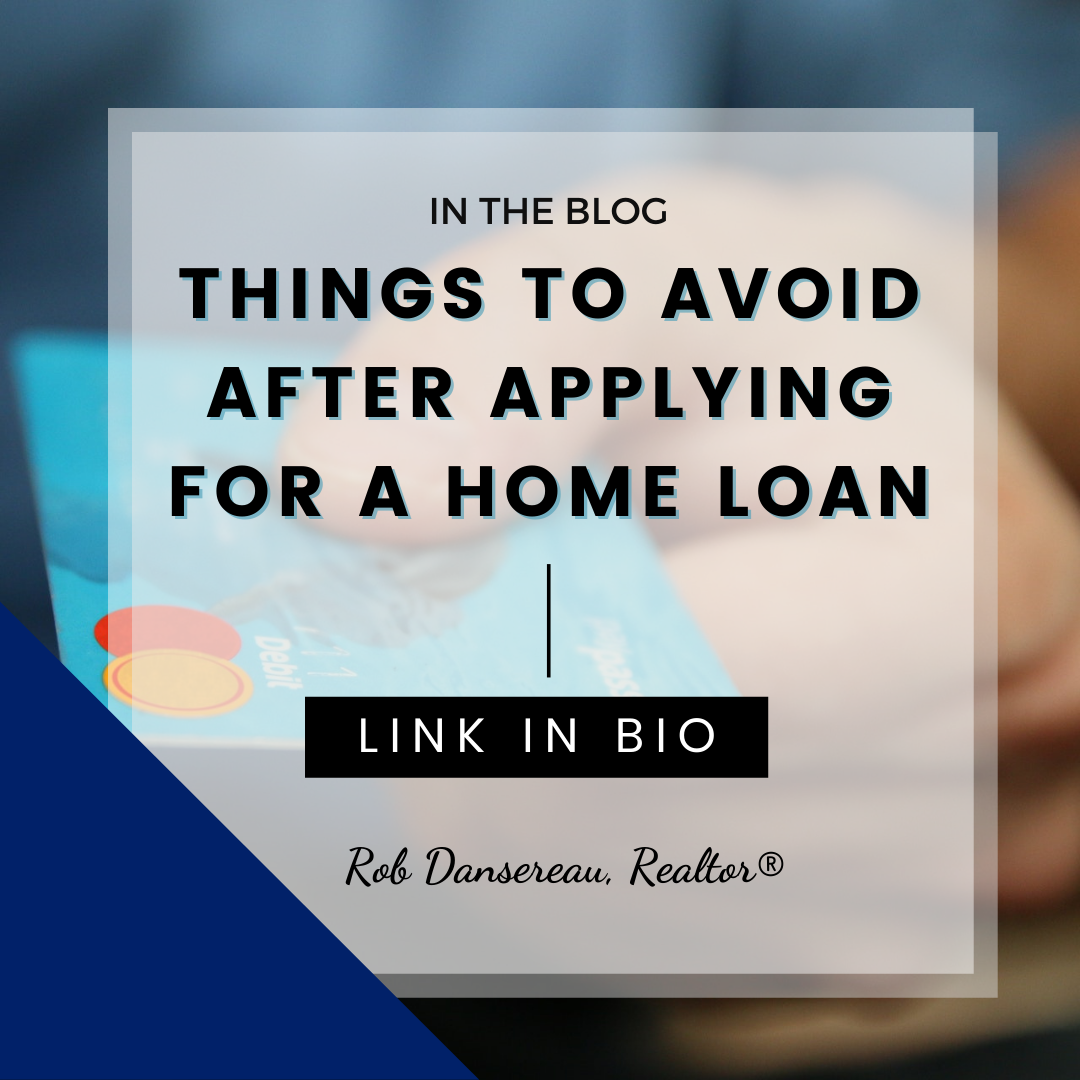 Things To Avoid After Applying For A Home Loan In 2020 Home Loans Home Buying Tips How To Apply