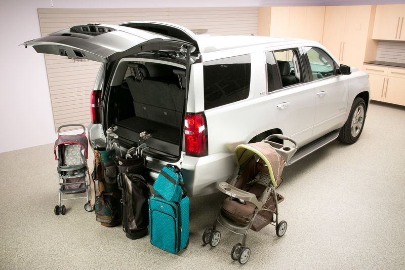 2015 chevrolet tahoe real world cargo space 2015 chevrolet tahoe pinterest chevrolet tahoe. Black Bedroom Furniture Sets. Home Design Ideas