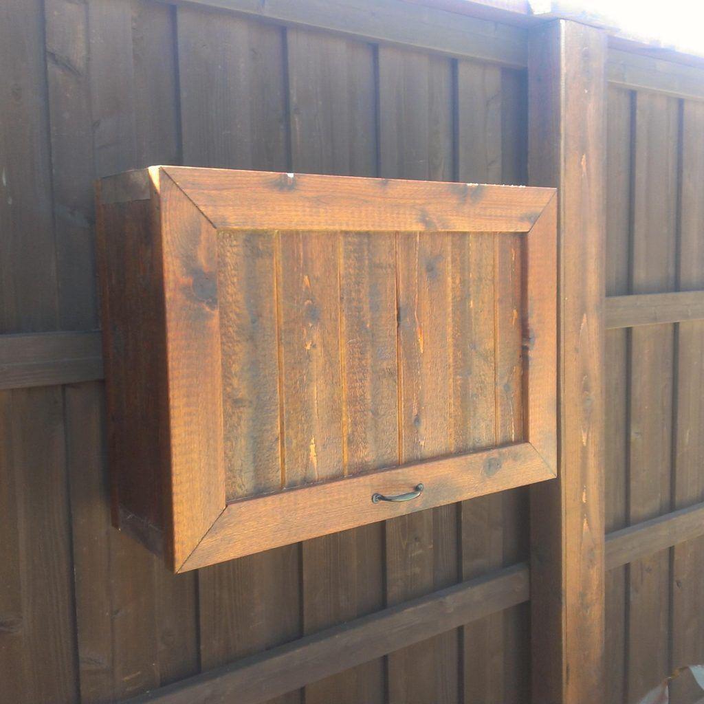 Outdoor Wood Storage Cabinet Plans Outdoor Tv Cabinet Outdoor Cupboard Outdoor Tv