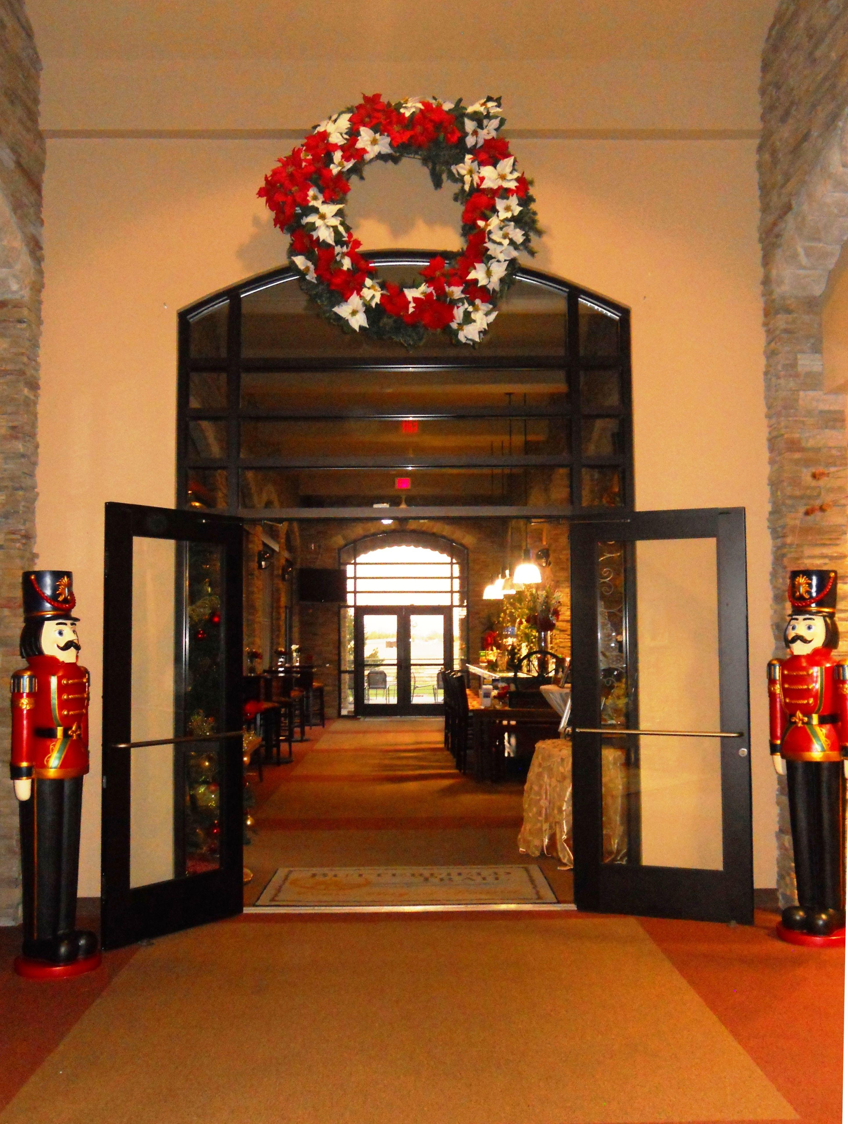 Entrance to Salida del Sol restaurant at Butterfield Trail Golf Club ...
