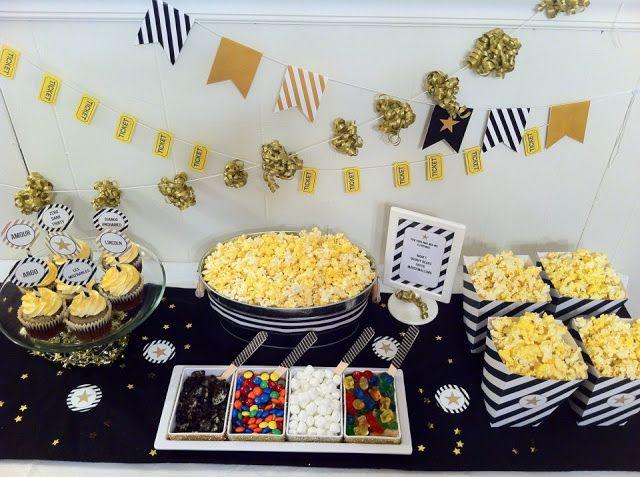 .  Popcorn Bar