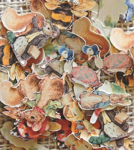 Paper Confetti - Beatrix Potter,Birthday Party,Baby Shower,Table Confetti,Party