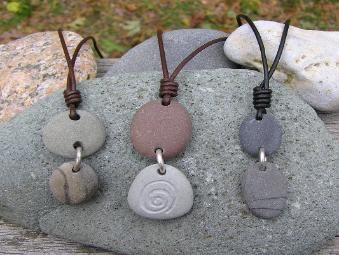 Photo of Cape Cod Beach Stone Jewelry by KEM Designs-New Ideas