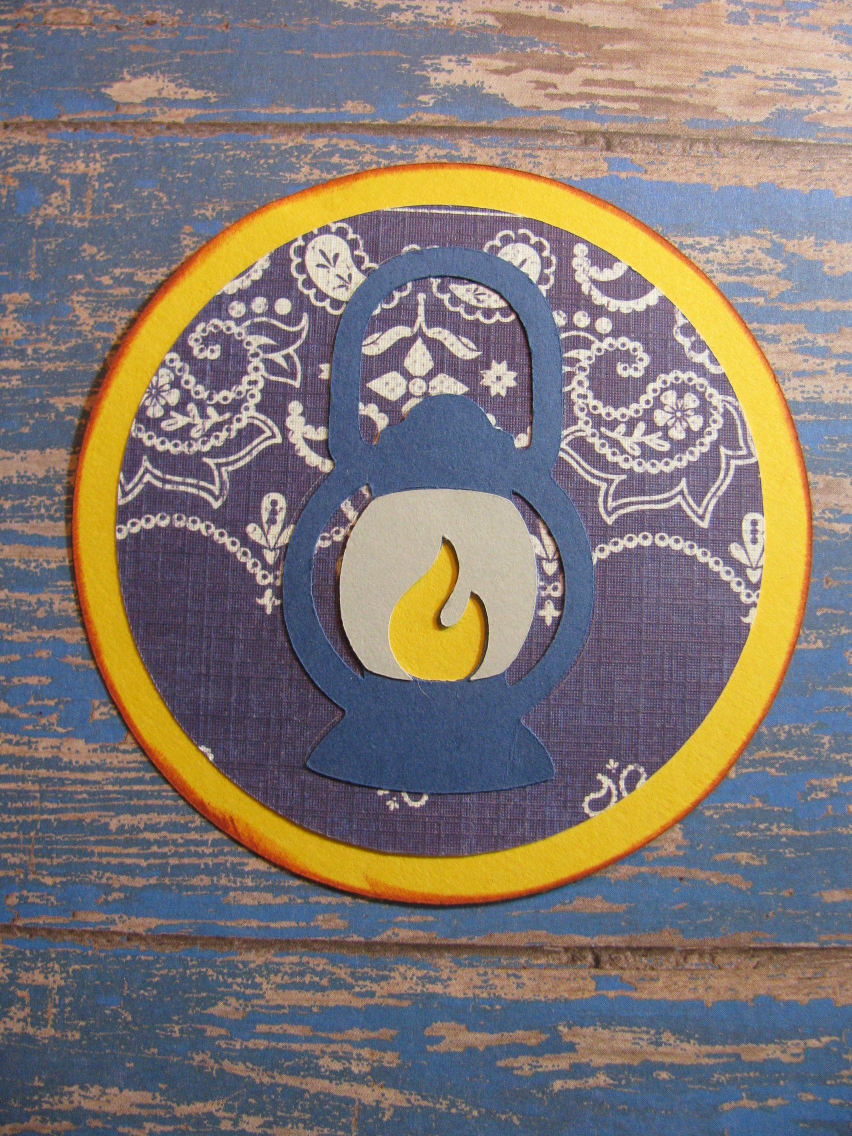 Campin Critters Badge - Lantern