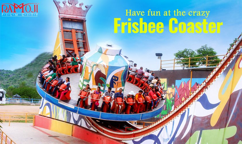Experience A Great Thrill On An Exhilarating Frisbee Coaster Best Amusement Parks Amusement Park Theme Park