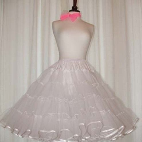 81d644eba9 Rock 'N 'Roll petticoat stiff net white with satin edge | Lovely ...