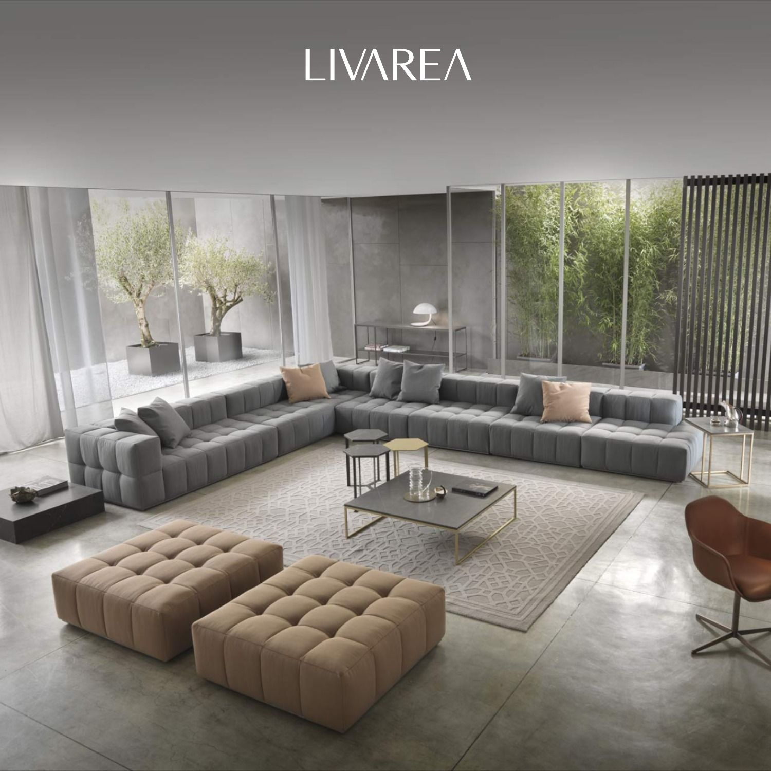 Marelli Lounge Sofa Andy in 4  Sofa design, Lounge design