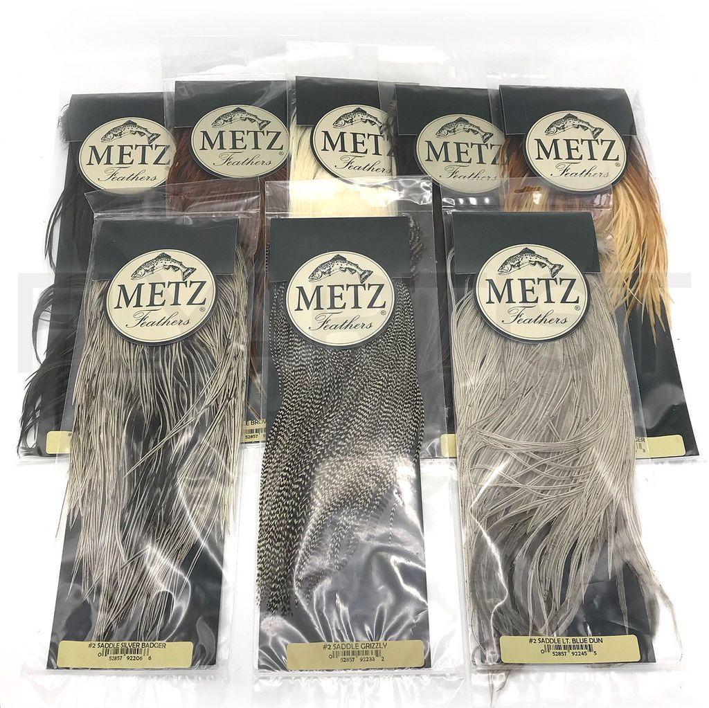 METZ #1 NECK perfect for soft hackles /& streamers fly tying CAPE Hen ...