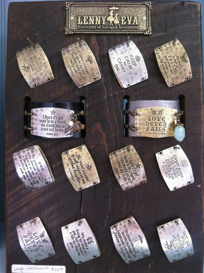 choose your quote  mix and match cuffs with sentiments  lenny and eva at b loved boutique
