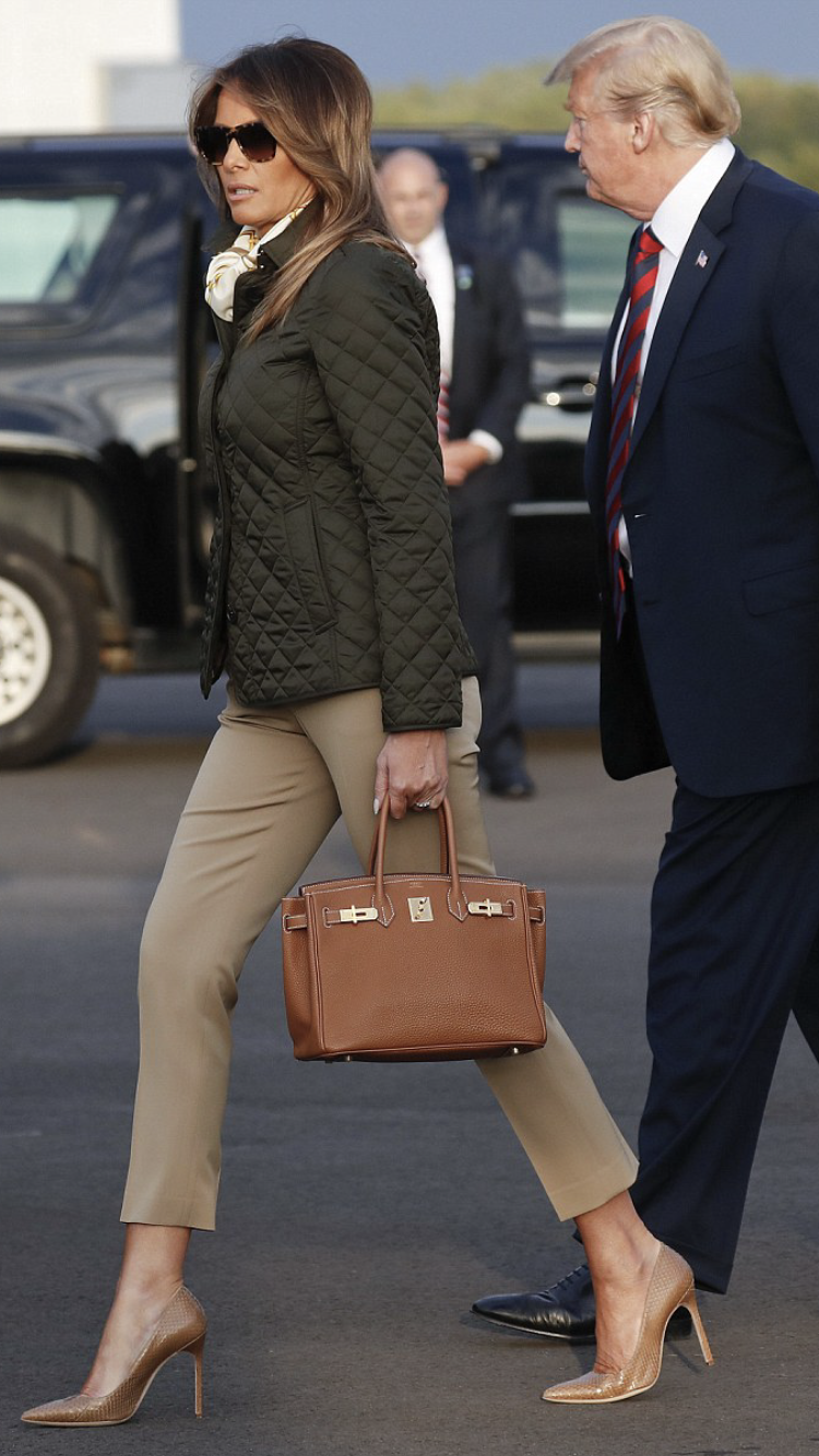 Pin By Style At A Certain Age Llc On Flotus Fashion Trump Fashion Milania Trump Style Fashion