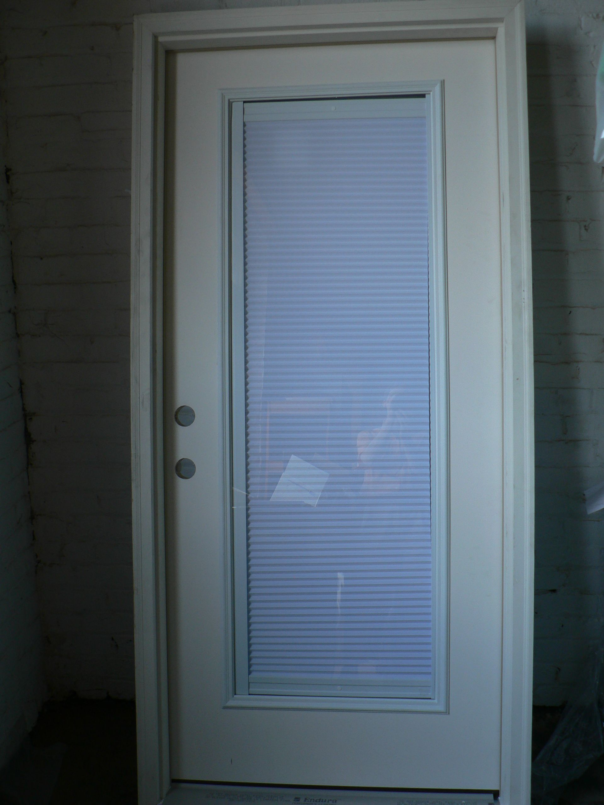 Do you need a new back door check out this fiberglass entry door