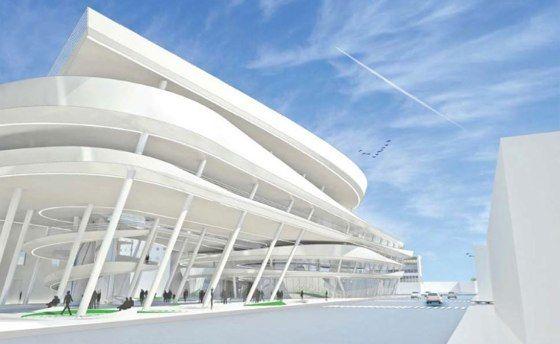 Collins Park Garage Miami Beach Zaha Hadid Zaha Hadid Architecture Structure Architecture