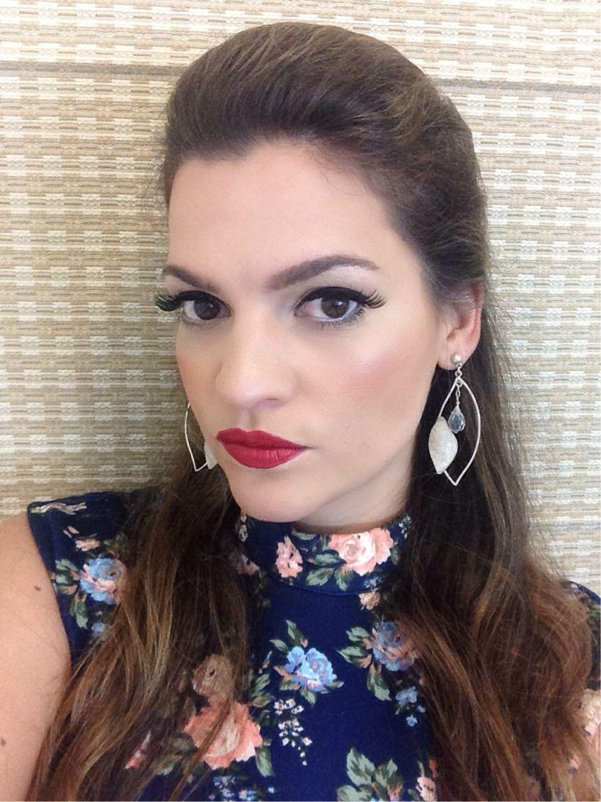 Makeup Tutorial on my Blog!! Come check it out :) http://www.stilettopsychology.com/?p=1850