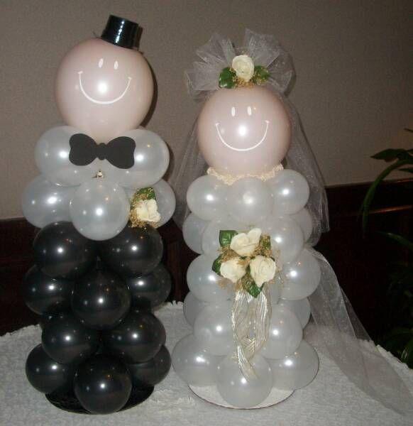 Increibles adornos con globos para boda originales for Decoracion de bodas originales