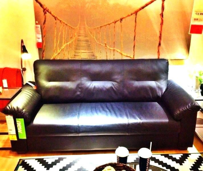 ikea knislinge sofa   Cheap interior design, Leather couch ...