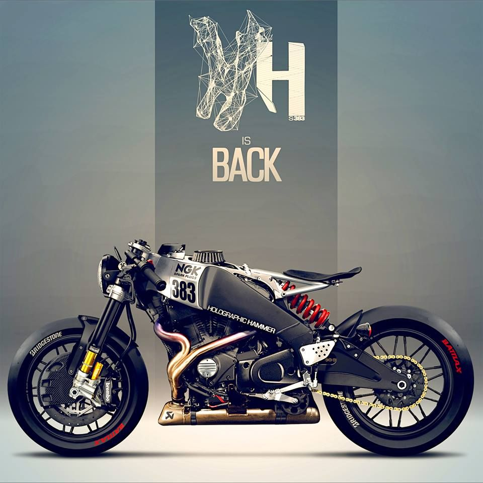 Buell XB12S Holographic Hammer More bikes here.   Custom Motorcycles ...