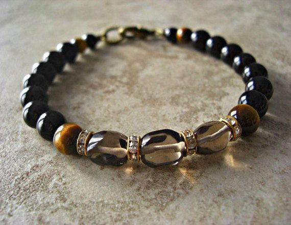 bracelet sanat edit home black blackonyx product onyx men mens kumara s crystals
