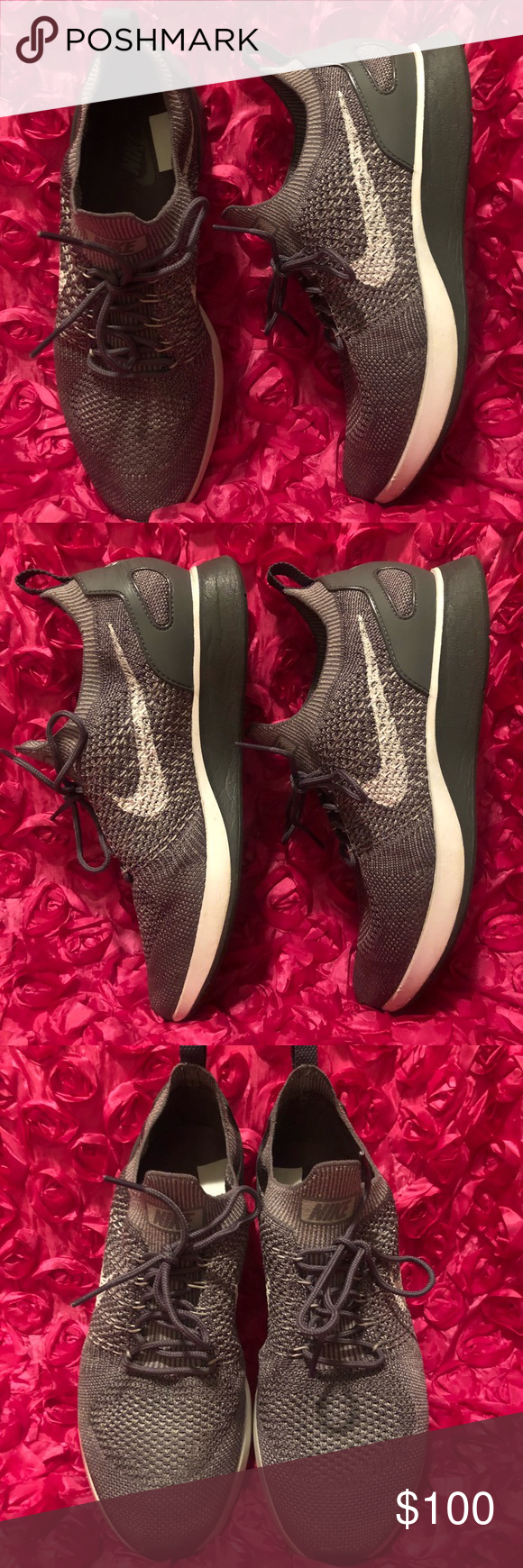 f8a6c4dcdded Men s Shoes Nike Air Zoom Mariah Flyknit Racer Excellent condition like new  used only once no box 📦 Color Gunsmoke Atmosphere Grey Dark Grey White Nike  ...