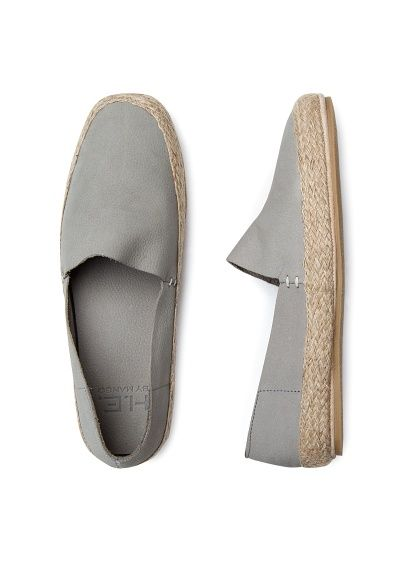 zapatos estilo alpargata nobuk - hombre | for him | pinterest